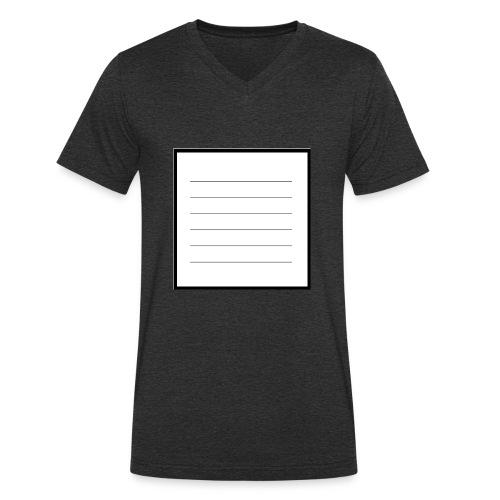 tell me what you think - Männer Bio-T-Shirt mit V-Ausschnitt von Stanley & Stella