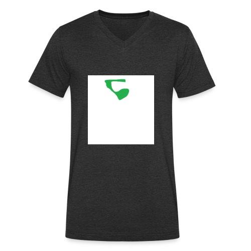 Decerion-Line - Männer Bio-T-Shirt mit V-Ausschnitt von Stanley & Stella
