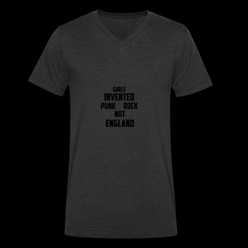 GIRLS - Men's Organic V-Neck T-Shirt by Stanley & Stella