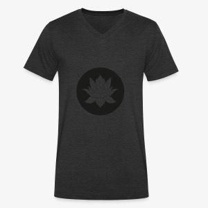 Lotusblume - Männer Bio-T-Shirt mit V-Ausschnitt von Stanley & Stella