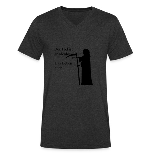 gnadenlos - Männer Bio-T-Shirt mit V-Ausschnitt von Stanley & Stella