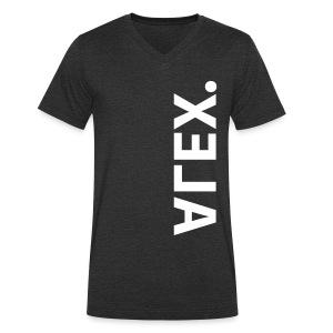 alex - Mannen bio T-shirt met V-hals van Stanley & Stella