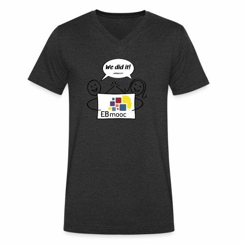 EBmooc 2017 Abschluss Comic - Männer Bio-T-Shirt mit V-Ausschnitt von Stanley & Stella