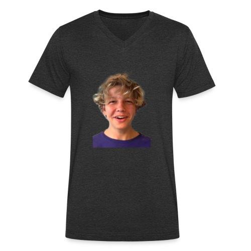 MIG!! - Økologisk Stanley & Stella T-shirt med V-udskæring til herrer