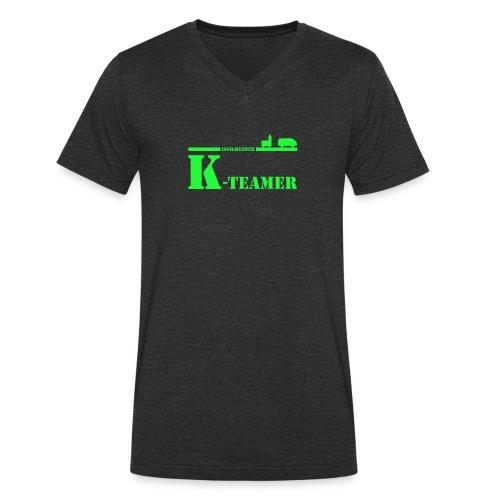 k-teamer - Männer Bio-T-Shirt mit V-Ausschnitt von Stanley & Stella