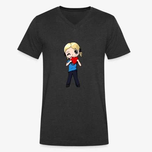 kitaraLove - Männer Bio-T-Shirt mit V-Ausschnitt von Stanley & Stella