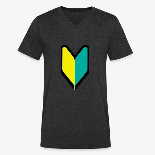 jdm - Camiseta ecológica hombre con cuello de pico de Stanley & Stella
