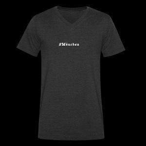 #Muenchen - Männer Bio-T-Shirt mit V-Ausschnitt von Stanley & Stella
