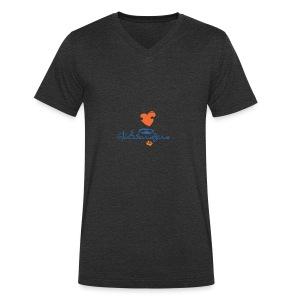 vtw Glücksbringerin - Männer Bio-T-Shirt mit V-Ausschnitt von Stanley & Stella