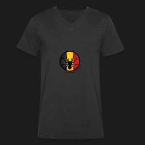 T shirt design - Men's Organic V-Neck T-Shirt by Stanley & Stella