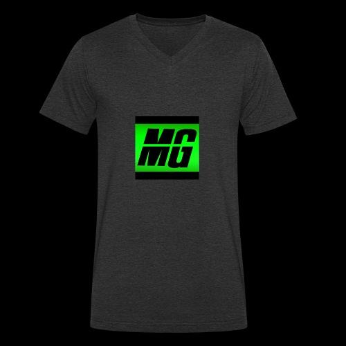 Mr Grim long sleeve top - Men's Organic V-Neck T-Shirt by Stanley & Stella