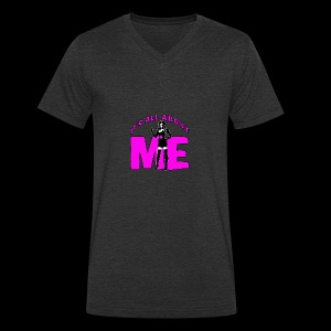 All About me Nurse Pink - Men's Organic V-Neck T-Shirt by Stanley & Stella