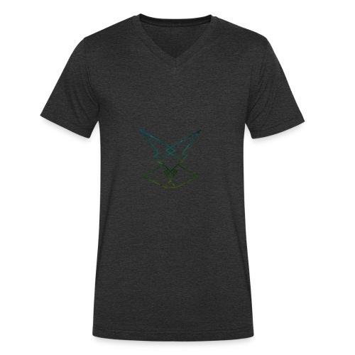 xcghjoeae - Männer Bio-T-Shirt mit V-Ausschnitt von Stanley & Stella