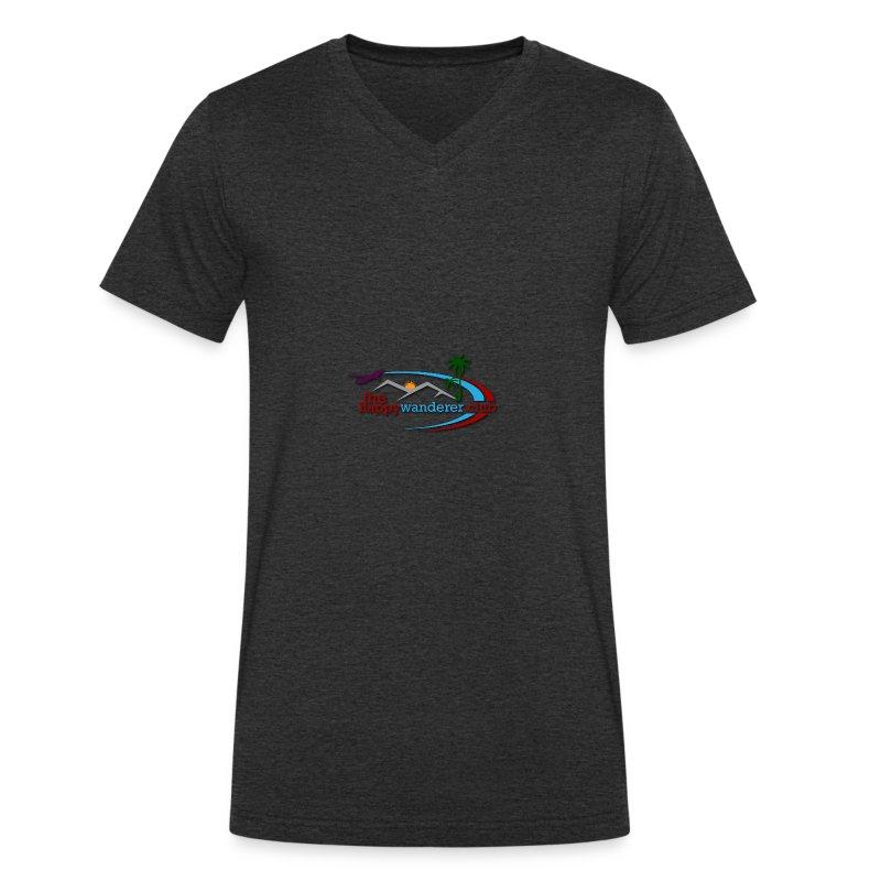 The Happy Wanderer Club Merchandise - Men's Organic V-Neck T-Shirt by Stanley & Stella