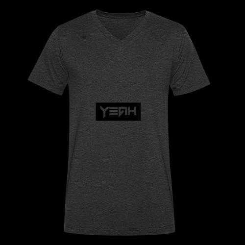 Yeah - Camiseta ecológica hombre con cuello de pico de Stanley & Stella