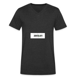 Stoner Avisory Extreme High - Mannen bio T-shirt met V-hals van Stanley & Stella