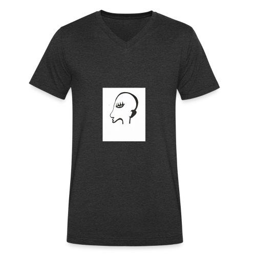 Profil de monstre - T-shirt bio col V Stanley & Stella Homme