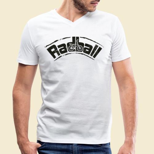 Radball   Radball - Männer Bio-T-Shirt mit V-Ausschnitt von Stanley & Stella