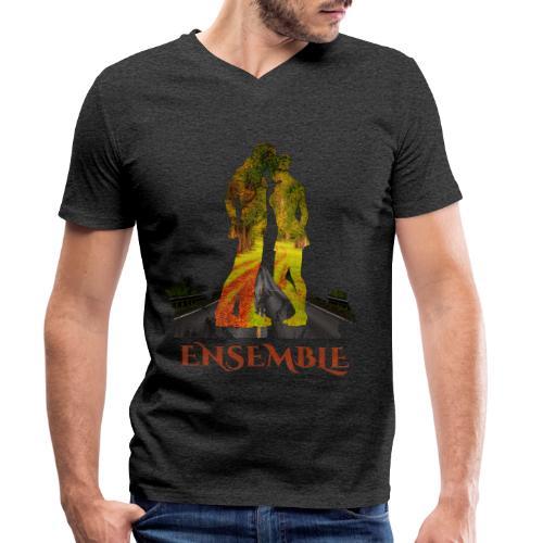 Ensemble -by- T-shirt chic et choc - T-shirt bio col V Stanley & Stella Homme