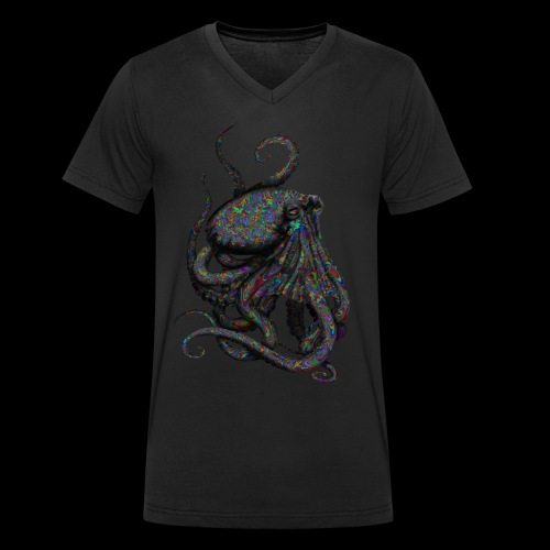 Oktopus Goa - Männer Bio-T-Shirt mit V-Ausschnitt von Stanley & Stella