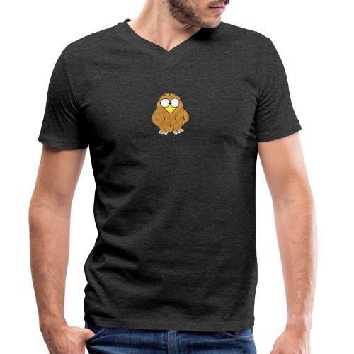 Niki Owl - Men's Organic V-Neck T-Shirt by Stanley & Stella