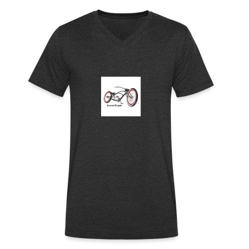 badge007 - T-shirt bio col V Stanley & Stella Homme
