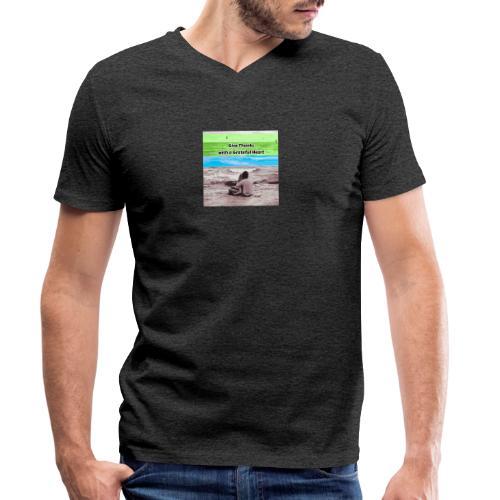 660A4930 87FD 4EB1 B2CC 08CABA14062C - Økologisk Stanley & Stella T-shirt med V-udskæring til herrer
