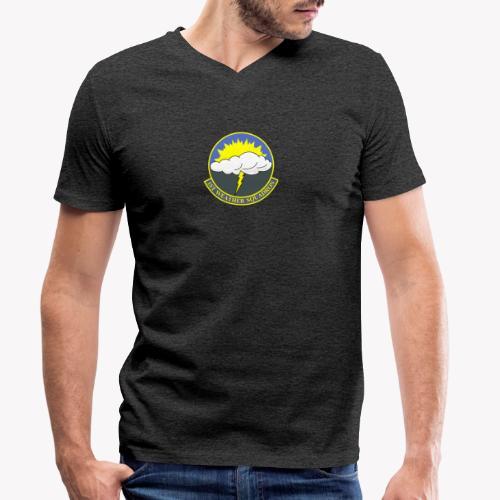 1st Weather Squadron - Männer Bio-T-Shirt mit V-Ausschnitt von Stanley & Stella