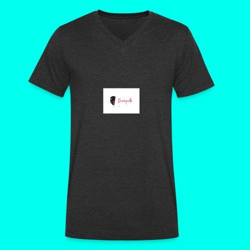 sociopath - Men's Organic V-Neck T-Shirt by Stanley & Stella