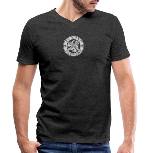 Hydra Design Roman Knives - Men's Organic V-Neck T-Shirt by Stanley & Stella