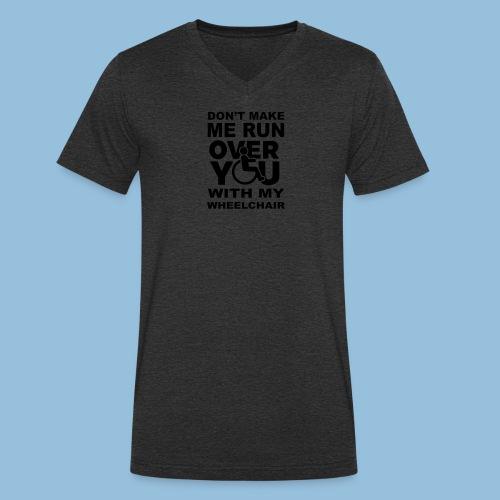 Runover1 - Mannen bio T-shirt met V-hals van Stanley & Stella