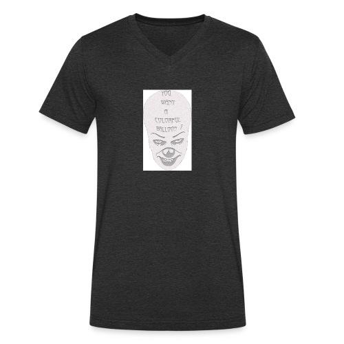clown-1-jpg - T-shirt ecologica da uomo con scollo a V di Stanley & Stella