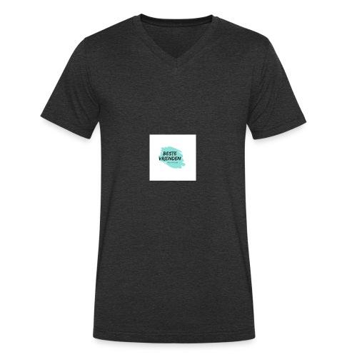 beste vriendeSpace - Mannen bio T-shirt met V-hals van Stanley & Stella