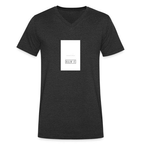 killinit-jpg - Mannen bio T-shirt met V-hals van Stanley & Stella