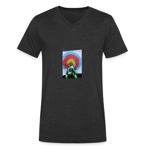 F1C5C2F0 28A3 455F 8EBD C3B4A6A01B45 - Økologisk T-skjorte med V-hals for menn fra Stanley & Stella