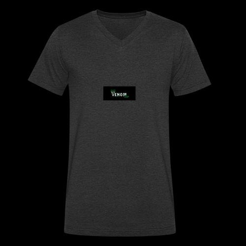 venomeverything - Men's Organic V-Neck T-Shirt by Stanley & Stella
