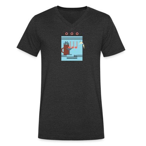 Poolbar - Männer Bio-T-Shirt mit V-Ausschnitt von Stanley & Stella