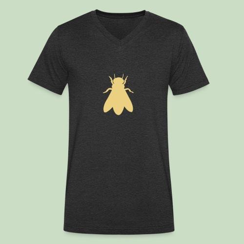 bee - Männer Bio-T-Shirt mit V-Ausschnitt von Stanley & Stella