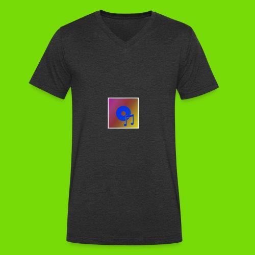 musica - Camiseta ecológica hombre con cuello de pico de Stanley & Stella