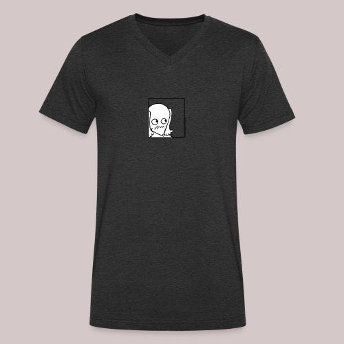 Timida - T-shirt ecologica da uomo con scollo a V di Stanley & Stella