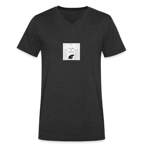 All gas, no brakes - T-shirt ecologica da uomo con scollo a V di Stanley & Stella