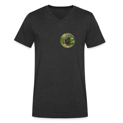 Buddah - Männer Bio-T-Shirt mit V-Ausschnitt von Stanley & Stella