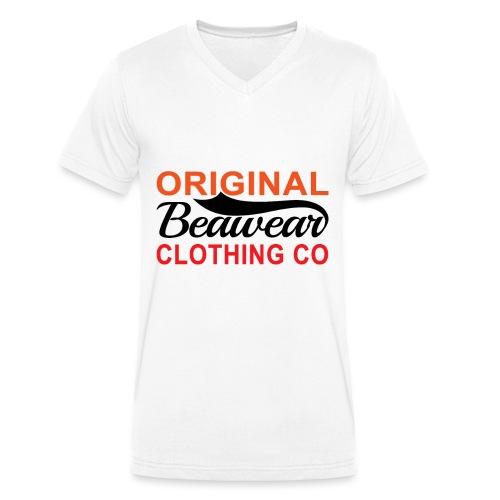 Original Beawear Clothing Co - Men's Organic V-Neck T-Shirt by Stanley & Stella