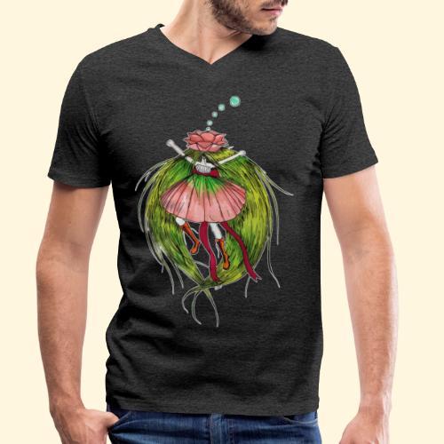 Fée des fleurs : Tiens bon ! (Pour l'écologie) - T-shirt bio col V Stanley & Stella Homme