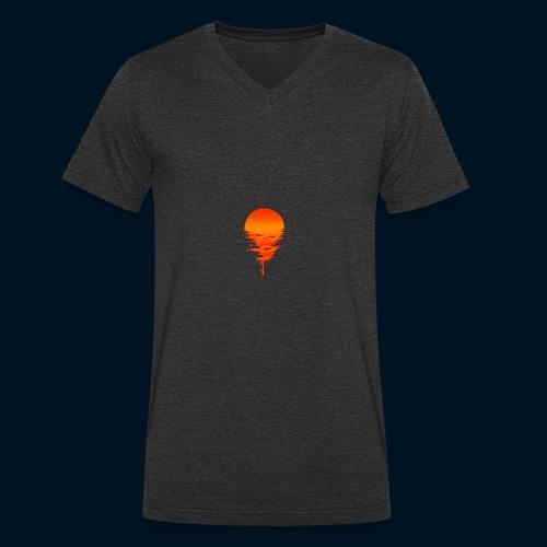 Weltuntergang - T-shirt ecologica da uomo con scollo a V di Stanley & Stella
