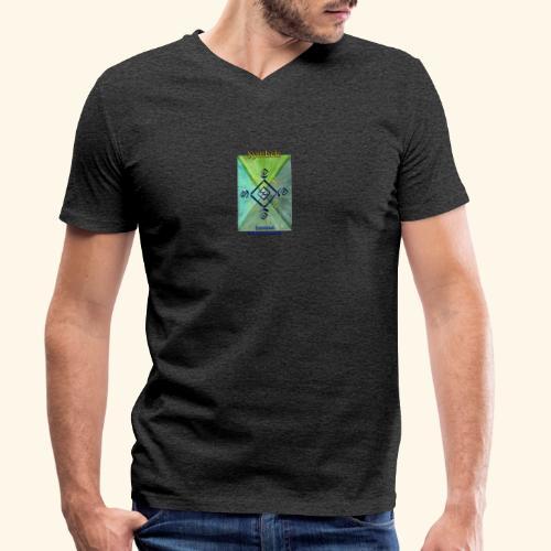 Samirael - Männer Bio-T-Shirt mit V-Ausschnitt von Stanley & Stella