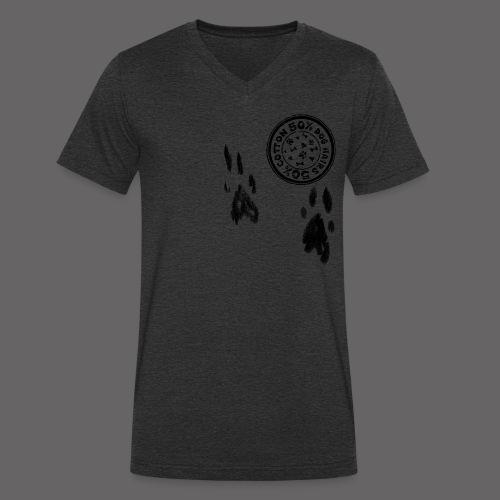 No hair, no love DOGLOVERS - Camiseta ecológica hombre con cuello de pico de Stanley & Stella