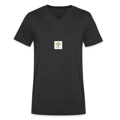 Solo logo trovavolantini - T-shirt ecologica da uomo con scollo a V di Stanley & Stella