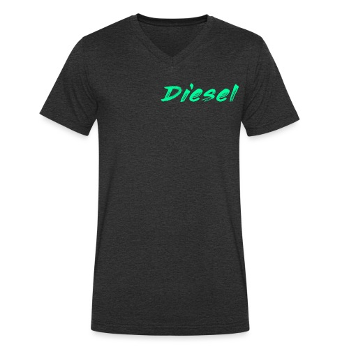 diesel - Men's Organic V-Neck T-Shirt by Stanley & Stella