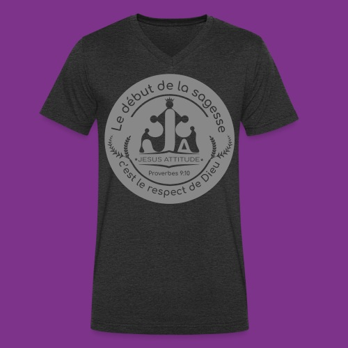 @Jesus_A - T-shirt bio col V Stanley & Stella Homme